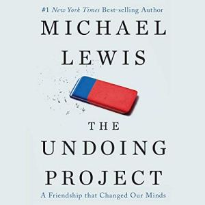 The Undoing Project audiobook cover art