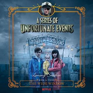 The Wide Window audiobook cover art
