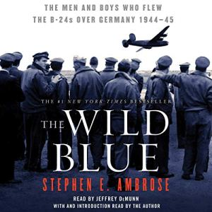 The Wild Blue audiobook cover art