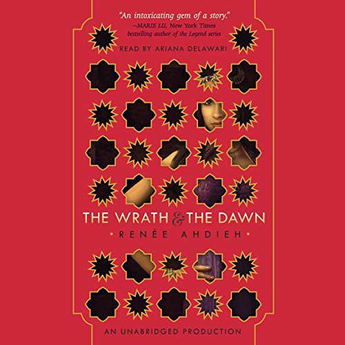 The Wrath and the Dawn audiobook cover art