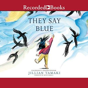 They Say Blue audiobook cover art