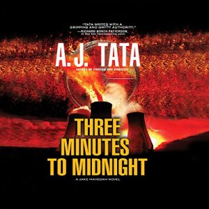 Three Minutes to Midnight audiobook cover art