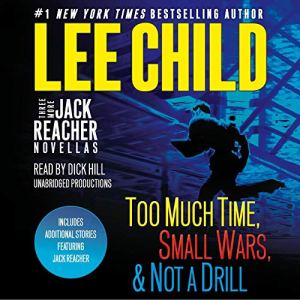 Three More Jack Reacher Novellas audiobook cover art