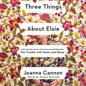 Three Things About Elsie audiobook cover art