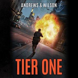 Tier One audiobook cover art