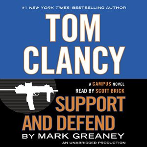 Tom Clancy Support and Defend audiobook cover art