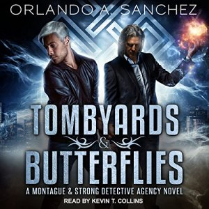 Tombyards & Butterflies audiobook cover art