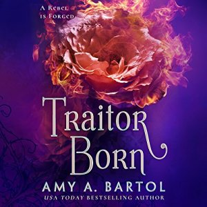 Traitor Born audiobook cover art