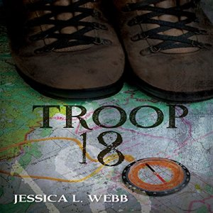 Troop 18 audiobook cover art
