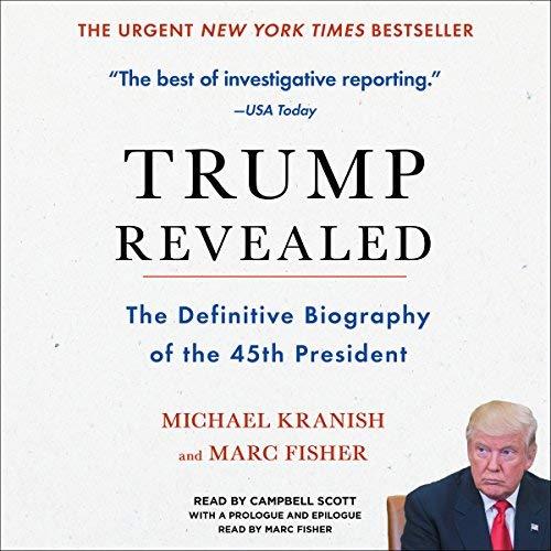 Trump Revealed audiobook cover art
