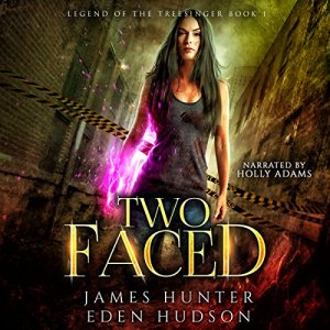 Two-Faced: An Urban Fantasy Adventure audiobook cover art
