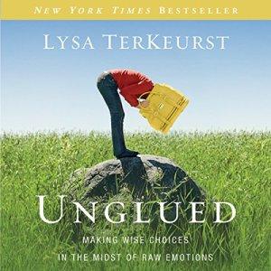 Unglued audiobook cover art