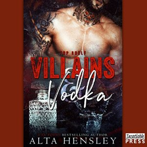 Villains & Vodka audiobook cover art
