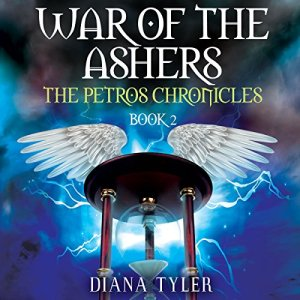 War of the Ashers audiobook cover art