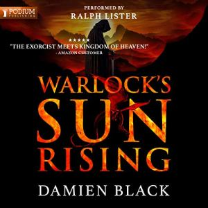 Warlock's Sun Rising audiobook cover art
