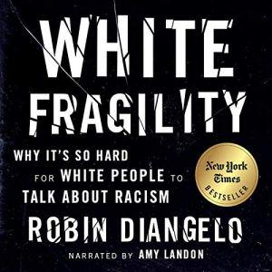 White Fragility audiobook cover art