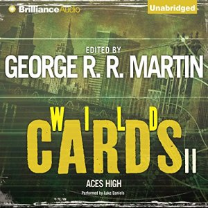 Wild Cards II: Aces High audiobook cover art