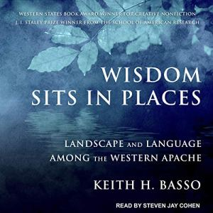 Wisdom Sits in Places audiobook cover art