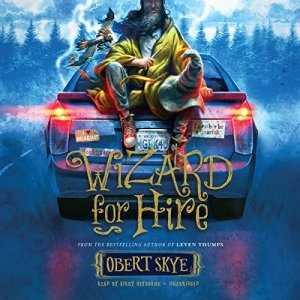 Wizard for Hire audiobook cover art