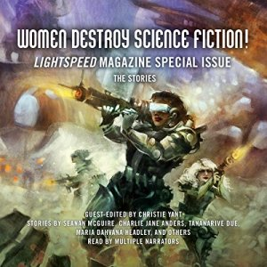 Women Destroy Science Fiction! audiobook cover art