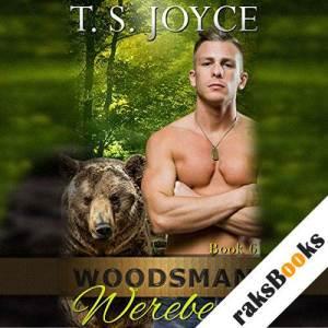 Woodsman Werebear audiobook cover art