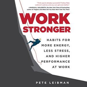 Work Stronger audiobook cover art