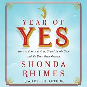 Year of Yes audiobook cover art