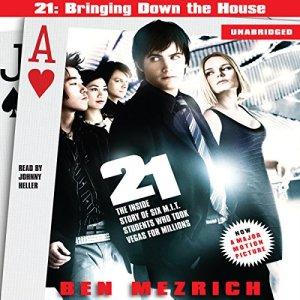 21 audiobook cover art
