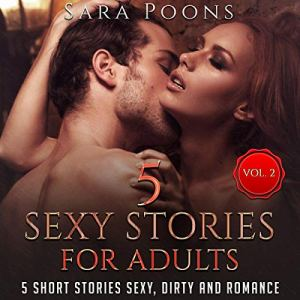 5 Sexy Stories For Adults, Vol.2 audiobook cover art