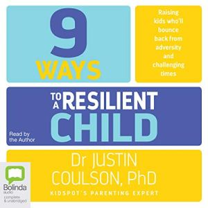 9 Ways to a Resilient Child audiobook cover art
