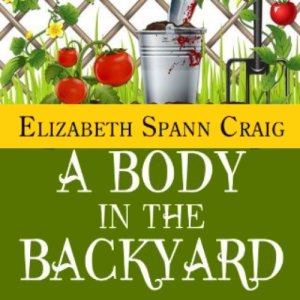 A Body in the Backyard audiobook cover art