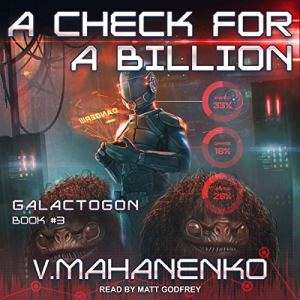 A Check for a Billion audiobook cover art