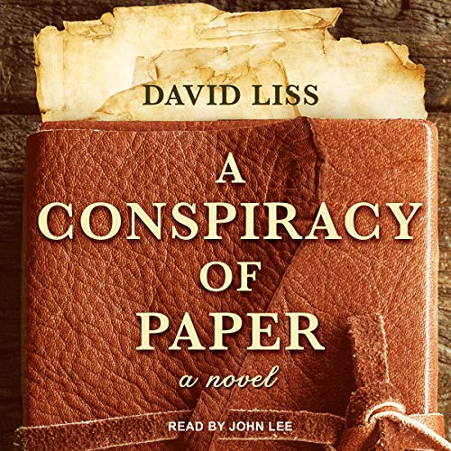 A Conspiracy of Paper audiobook cover art