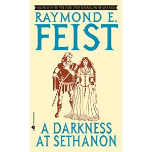 A Darkness at Sethanon audiobook cover art