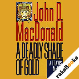 A Deadly Shade of Gold audiobook cover art