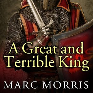A Great and Terrible King audiobook cover art