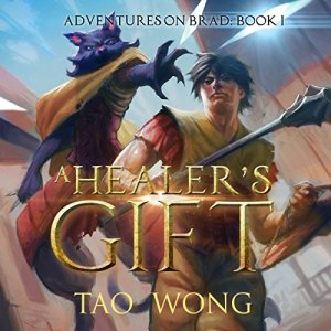 A Healer's Gift audiobook cover art