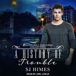 A History of Trouble audiobook cover art