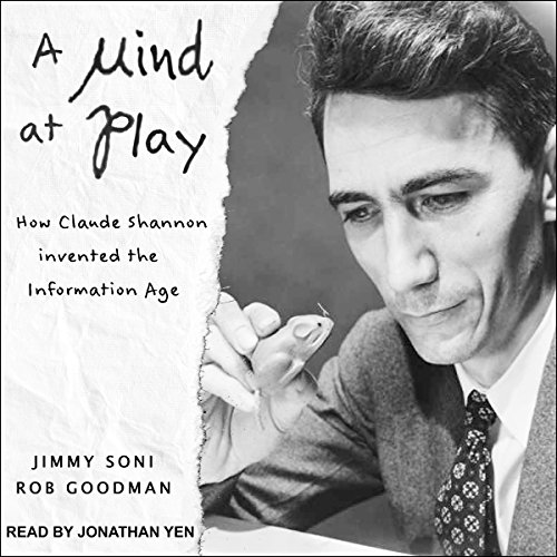 A Mind at Play audiobook cover art