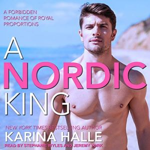 A Nordic King audiobook cover art