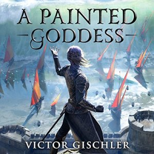 A Painted Goddess audiobook cover art