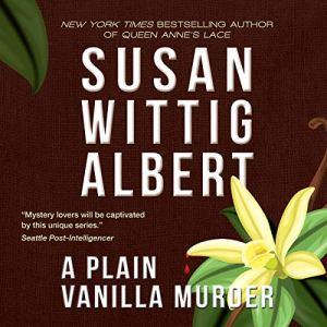 A Plain Vanilla Murder audiobook cover art
