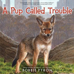 A Pup Called Trouble audiobook cover art