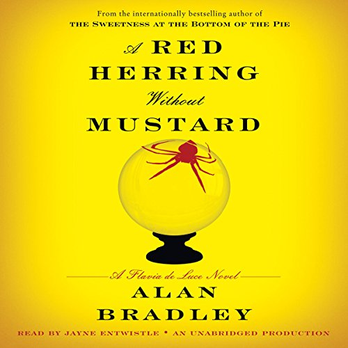 A Red Herring Without Mustard audiobook cover art