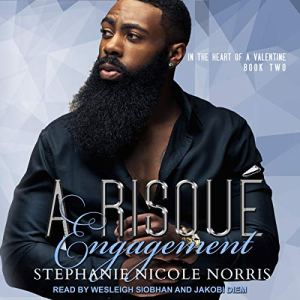 A Risque Engagement audiobook cover art