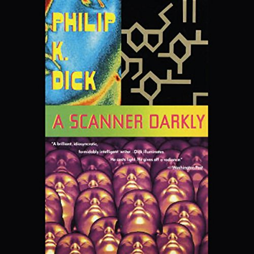 A Scanner Darkly audiobook cover art