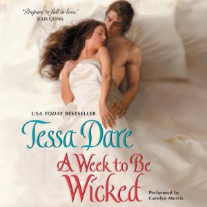 A Week to Be Wicked audiobook cover art