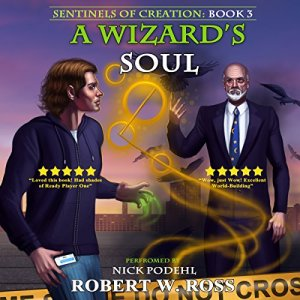 A Wizard's Soul audiobook cover art