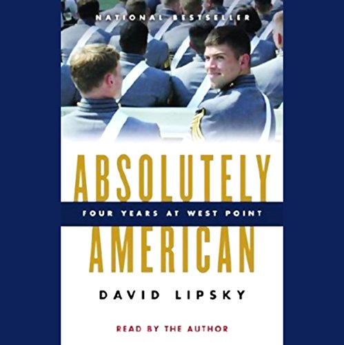 Absolutely American audiobook cover art