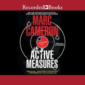 Active Measures audiobook cover art